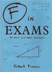 F in Exams : The Best Test Paper Blunders, Paperback Book