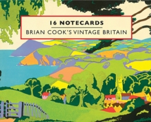Brian Cook's Vintage Britain - 16 Notecards, Cards Book