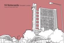 Brutalist London - 16 Notecards, Mixed media product Book