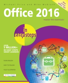 Office 2016 in Easy Steps, Paperback Book