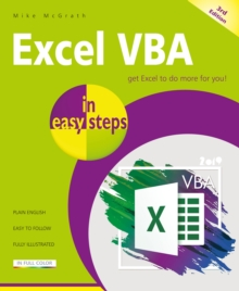 Excel VBA in easy steps : Covers Visual Studio Community 2017, Paperback / softback Book