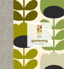 Orla Kiely Gardening Journal, Spiral bound Book