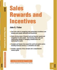 Sales Rewards and Incentives : Sales 12.07, Paperback / softback Book