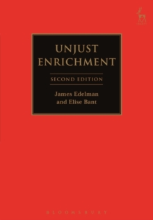 Unjust Enrichment, Paperback Book