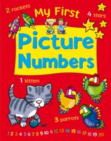 My First Picture Numbers, Hardback Book