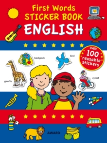 First Words Sticker Book : English, Paperback / softback Book