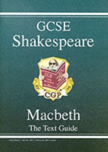 Grade 9-1 GCSE English Shakespeare Text Guide - Macbeth, Paperback / softback Book