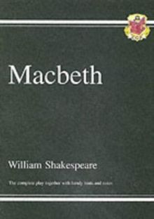 Grade 9-1 GCSE English Macbeth - The Complete Play, Paperback Book