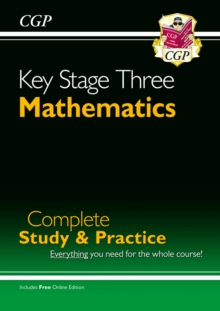 New KS3 Maths Complete Study & Practice (with Online Edition), Paperback Book