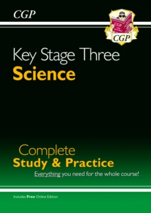 New KS3 Science Complete Study & Practice - Higher (with Online Edition), Paperback / softback Book