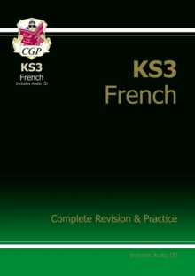 KS3 French Complete Revision and Practice with Audio CD, Paperback / softback Book