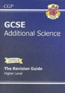 GCSE Additional Science Revision Guide - Higher (with Online Edition) (A*-G Course), Paperback Book