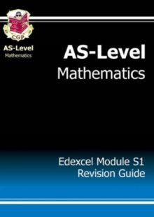 AS-Level Maths Edexcel Module Statistics 1 Revision Guide, Paperback Book