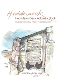 The Hebridean Desk Address Book, Hardback Book