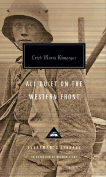 All Quiet on the Western Front, Hardback Book