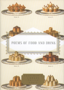 Poems Of Food And Drink, Hardback Book