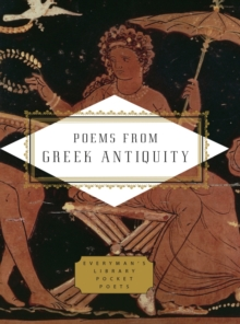 Poems from Greek Antiquity, Hardback Book