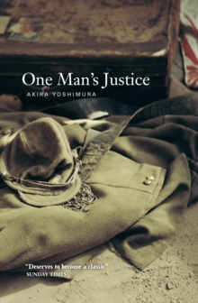 One Man's Justice, Paperback / softback Book