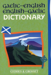 Gaelic - English Dictionary, Paperback Book