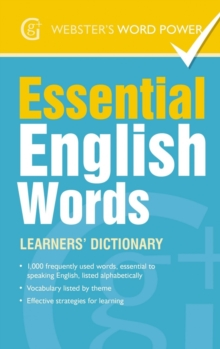Essential English Words : Learners' Dictionary, Paperback Book