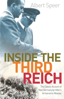 Inside The Third Reich, Paperback Book