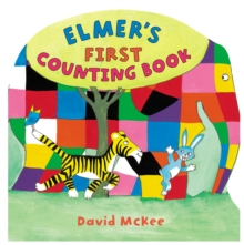 Elmer's First Counting Book, Hardback Book