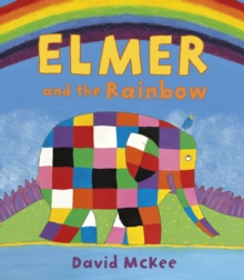 Elmer and the Rainbow : Board Book, Paperback / softback Book