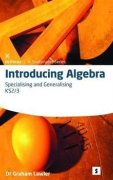 Introducing Algebra 2 : Specialising and Generalising 2, Spiral bound Book