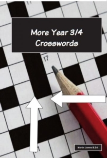 More Year 3-4 Crosswords, Paperback Book