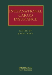 International Cargo Insurance, Hardback Book