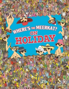 Where's the Meerkat? On Holiday, Paperback Book
