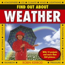Find Out About Weather, Hardback Book