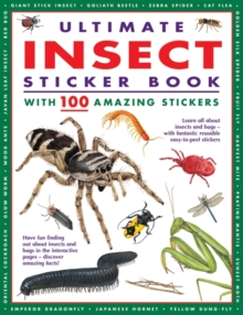 Ultimate Insect Sticker Book : With 100 Amazing Stickers, Pamphlet Book