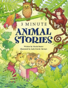 3-minute Animal Stories : A Special Collection of Short Stories for Bedtime, Paperback Book