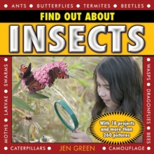 Find Out About Insects : With 18 Projects and More Than 260 Pictures, Hardback Book