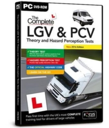 The Complete LGV & PCV Theory and Hazard Perception Tests, DVD-ROM Book