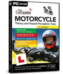 The Complete Motorcycle Theory and Hazard Perception Tests, DVD-ROM Book
