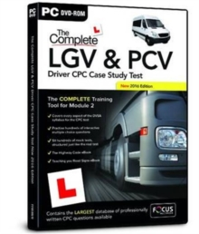 The Complete LGV & PCV Driver CPC Case Study Test, DVD-ROM Book