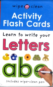 Wipe Clean Activity Flash Cards ABC, Cards Book