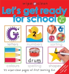 Let's Get Ready for School, Spiral bound Book