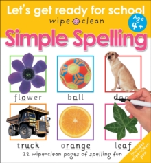 Simple Spelling : Let's Get Ready For School, Paperback Book