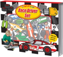 Race Driver Set : Let's Pretend Sets, Hardback Book