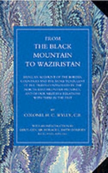 From the Black Mountain to Waziristan, Paperback Book