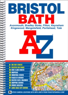 Bristol and Bath Street Atlas, Spiral bound Book