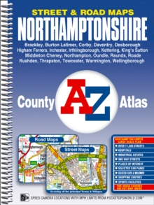 Northamptonshire County Atlas, Spiral bound Book