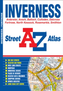 Inverness Street Atlas, Paperback Book