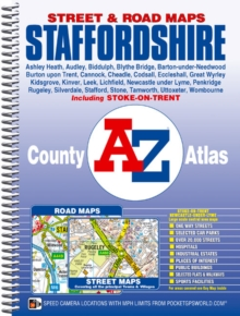 Staffordshire County Atlas, Spiral bound Book