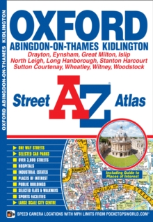 Oxford Street Atlas, Paperback Book