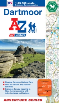 Dartmoor Adventure Atlas, Paperback Book