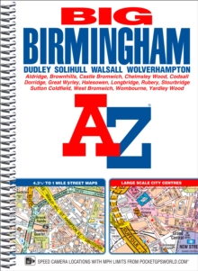 Big Birmingham Street Atlas, Spiral bound Book